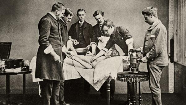 История возникновения антисептика